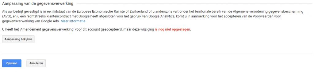 AVG-voorwaarden-accepteren-Google-Analytics-niet-opgeslagen