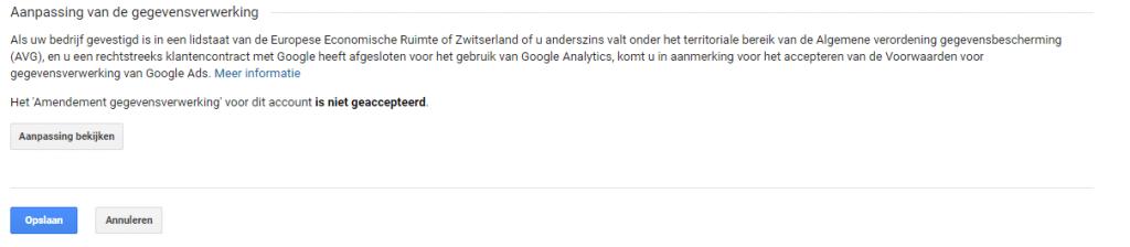 AVG-voorwaarden-accepteren-Google-Analytics