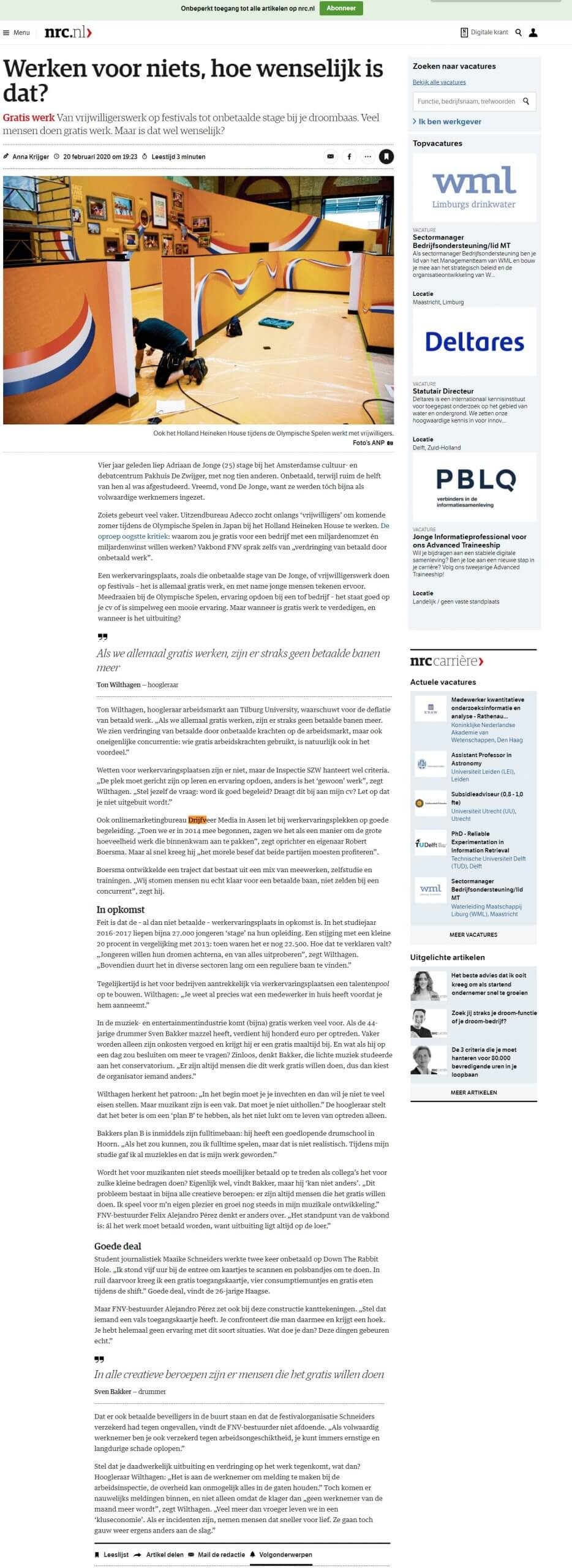NRC-artikel